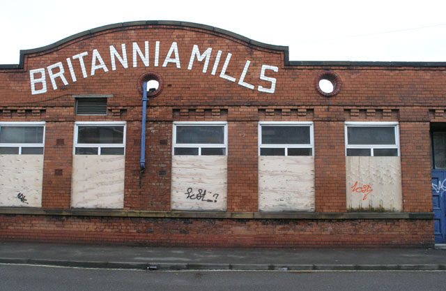 The Britannia Mills - Bennett Street, Long Eaton