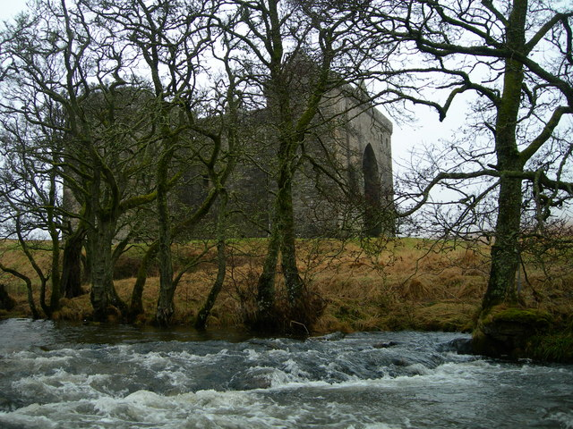 Hermitage Water and Castle