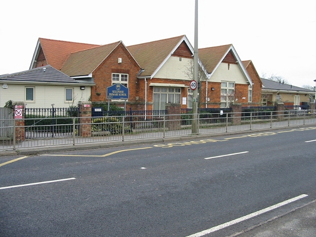Sellindge primary school on the A20