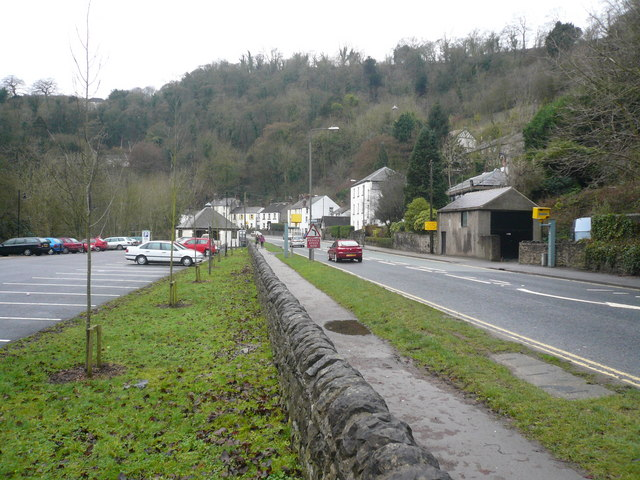 Dale Road (A6) - Viewed from Car Park