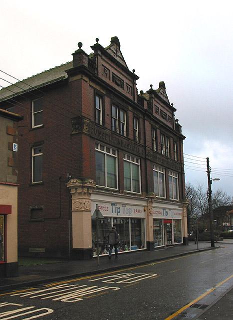 Former Co-op building, Newmarket Street
