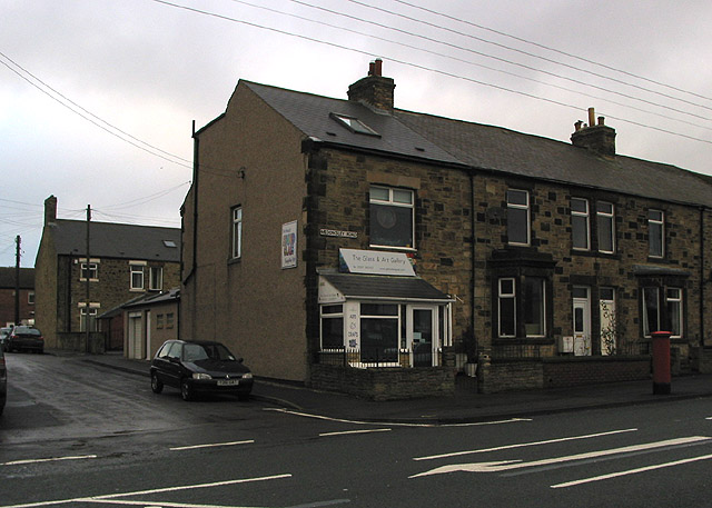 The Glass & Art Gallery, Medomsley Road