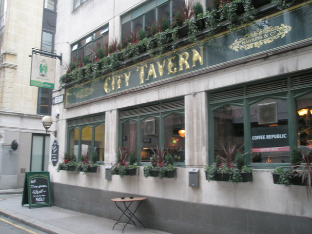 City Tavern, Trump Street