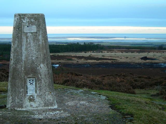 Greensheen Hill Trig Point.