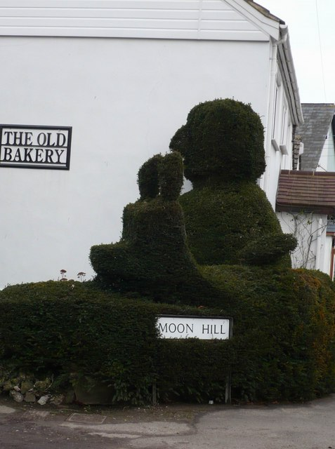 Topiary in Shepherds Well