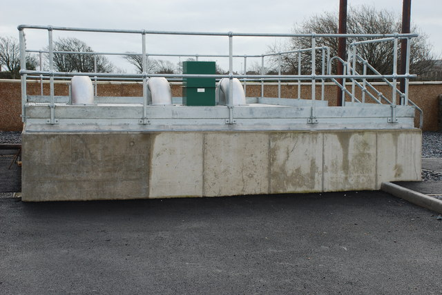 Gorsaf Bwmpio Newydd Pwllheli New Pumping Station