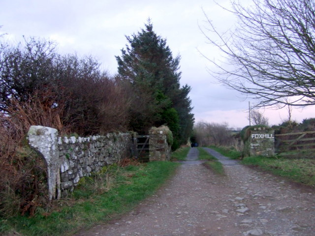 Entrance to Foxhill