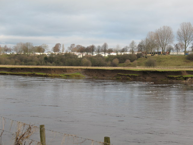 Looking across the Ure
