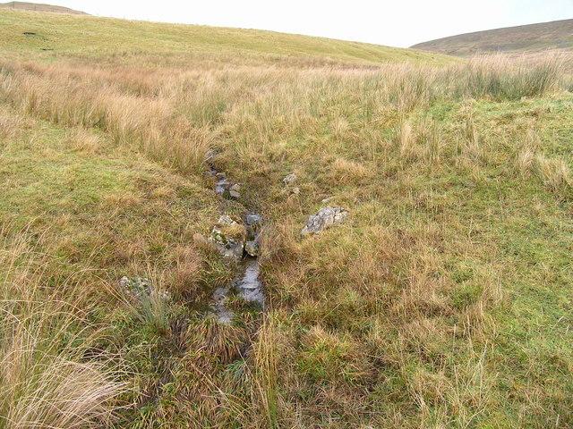 Minor innominate gill draining the moor