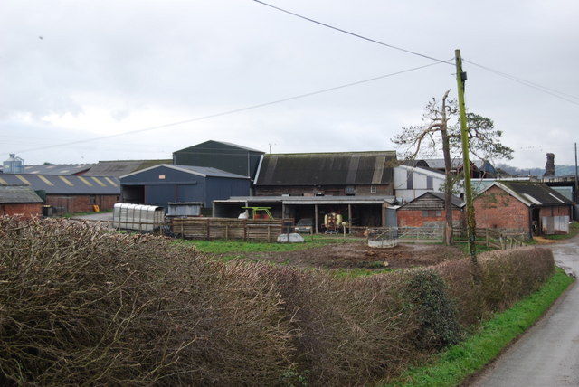 Farm buildings at The Grove