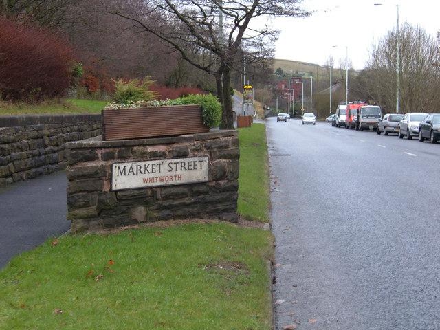 Market Street Whitworth