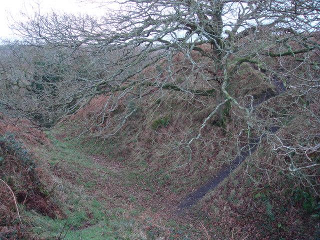 Penstowe Castle near Kilkhampton