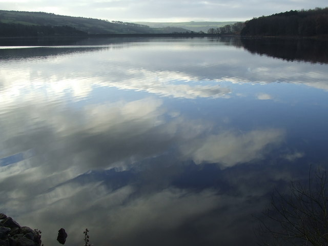 Swinsty Reservoir from Stack Point