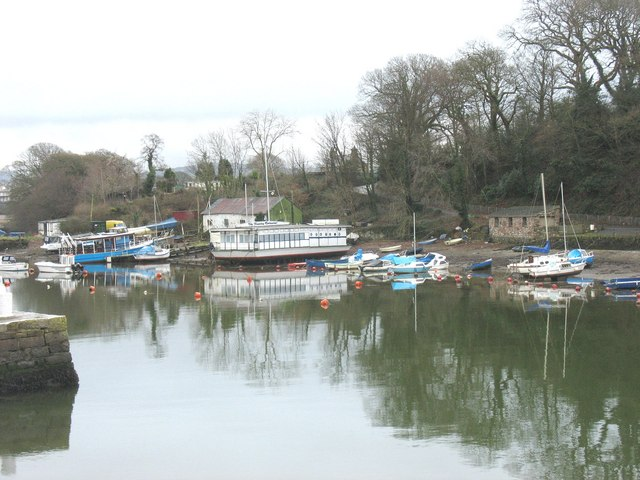 "The ""Queen"" and the Floating Restaurant in their winter quarters"