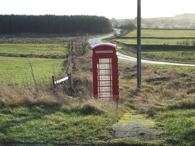 Telephone Box at Bland Hill