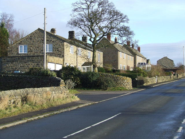 Houses at Bland Hill