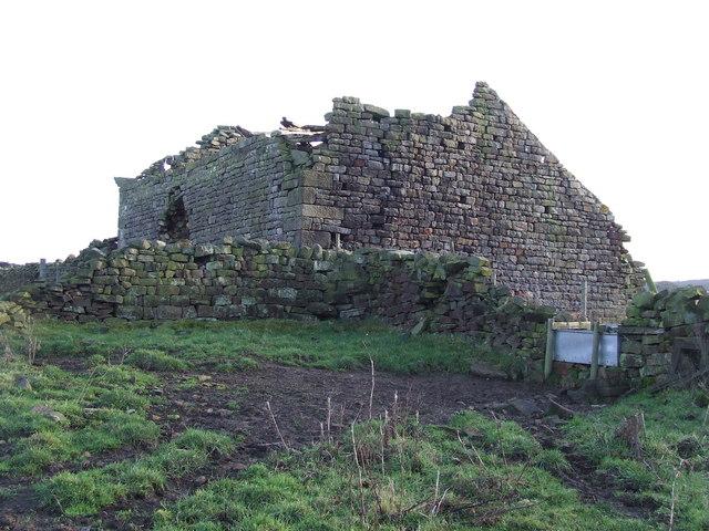 Ruined Barn (Wakefield Folly)