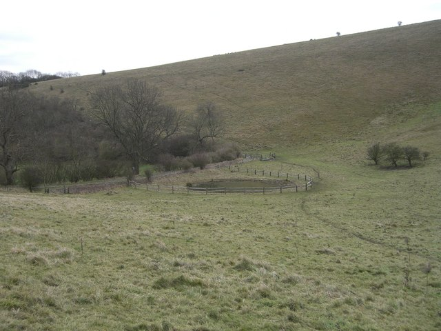 Pyecombe, Wolstonbury hill, Wellcombe bottom
