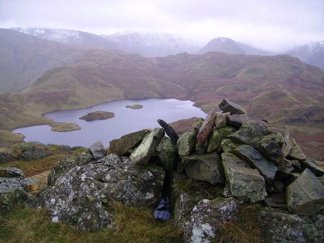 Summit Cairn, Angletarn Pikes
