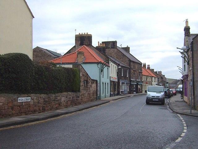 High Street, Wooler