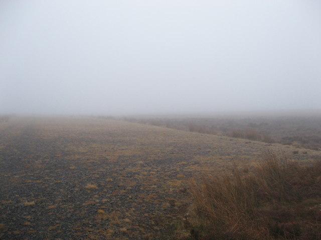 Firing range on Emblehope Moor