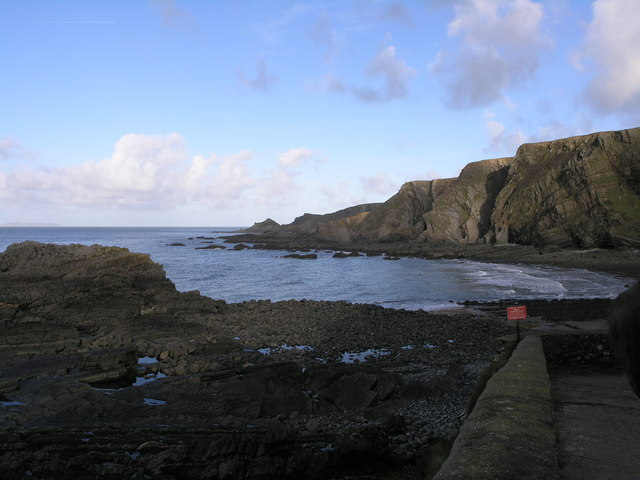 North from Hartland Quay