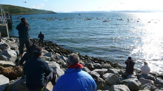 New Pier and Rocks, Loch Scresort