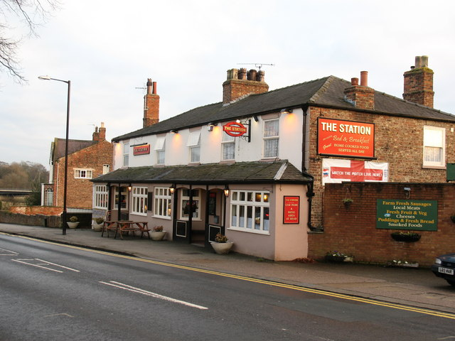 The Station public house.