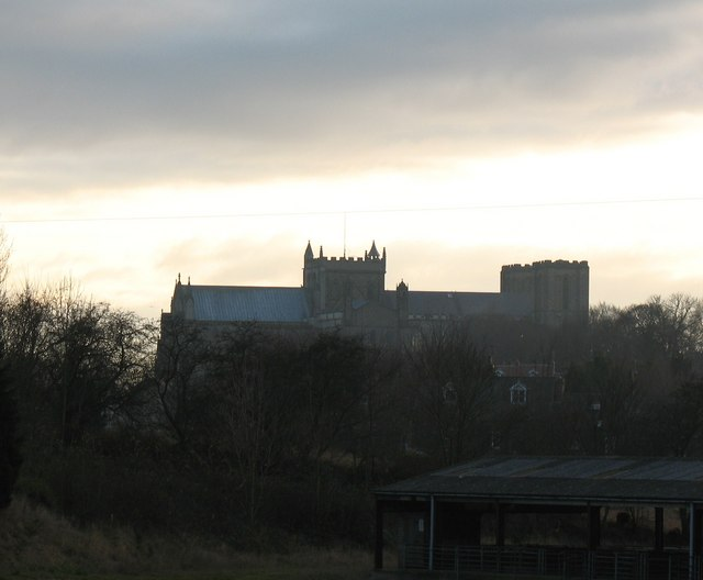 The Minster from the north