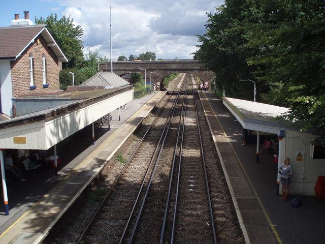 Railway bridge to railway bridge