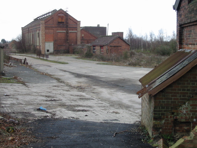 Industrial remains - Snowdown colliery