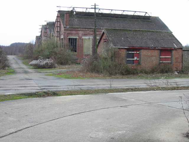 Remnants of Snowdown colliery