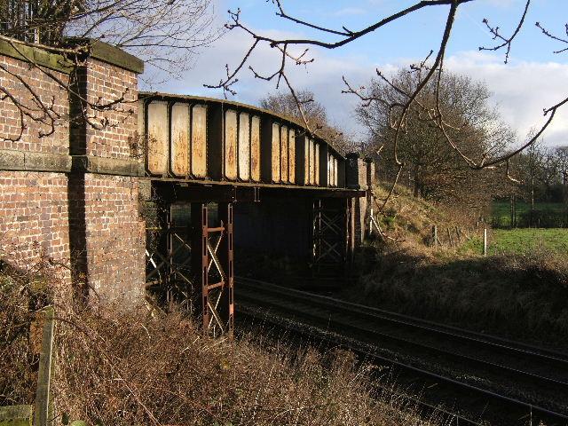 Old Railway Bridge,  over main line.