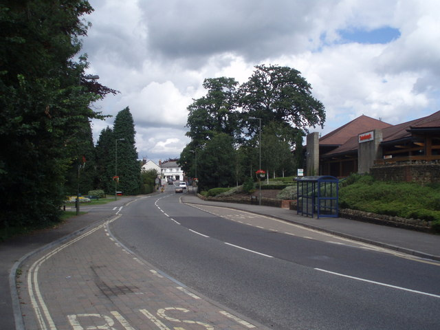 Bus stop near Sainsbury