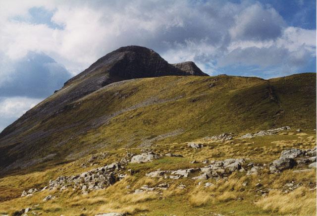 The east ridge of Stob Ban