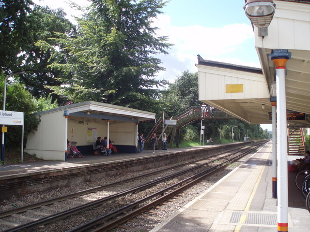 Down platform at Liphook Station
