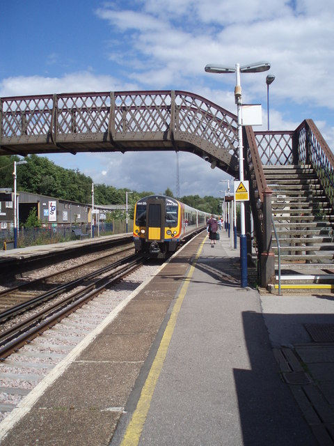 Down platform at Liss Station