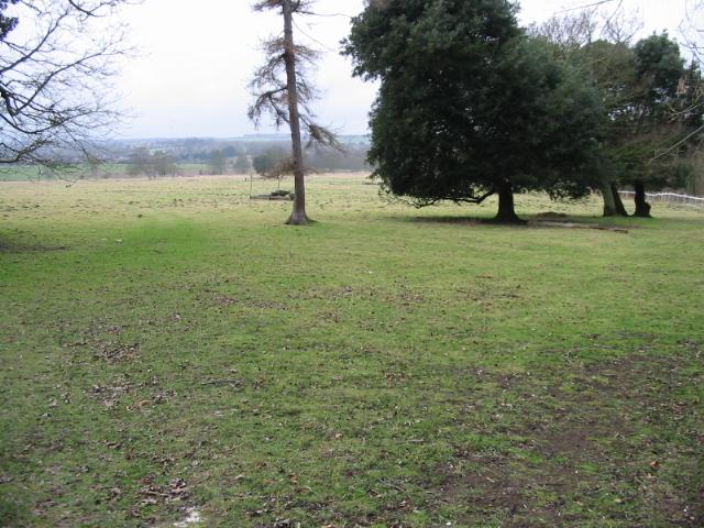 View across St Alban's Downs, near Nonington