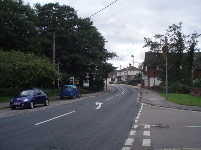 Approaching the centre of Liss
