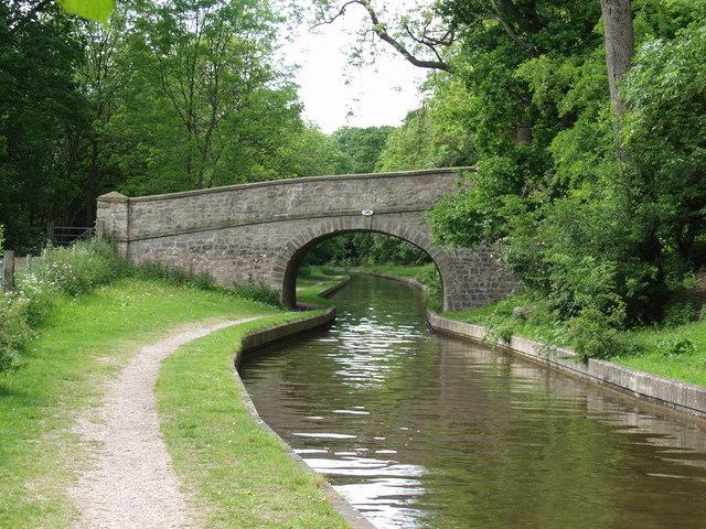 Llangollen canal Bridge no. 36