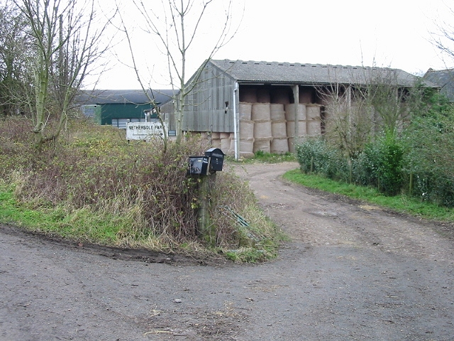 Entrance to Nethersole Farm, Womenswold