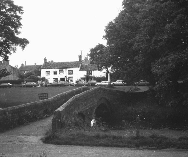 View across Linton Green, Wharfedale