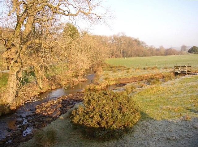 The River Conder, Scotforth / Quernmore