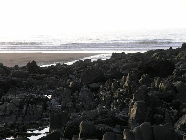 Beach at Duckpool