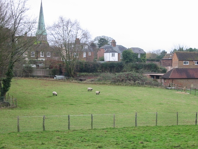 View from Rectory Lane, Barham