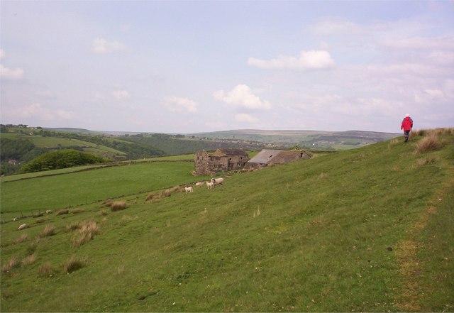 Moorland near Cruttonstall