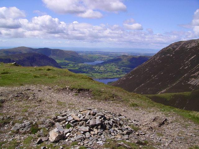 Summit Cairn, Whiteless Pike