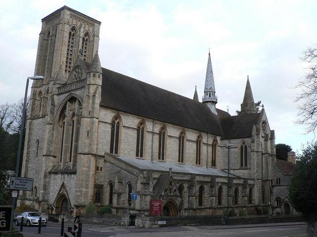 Bournemouth: parish church of St. Stephen