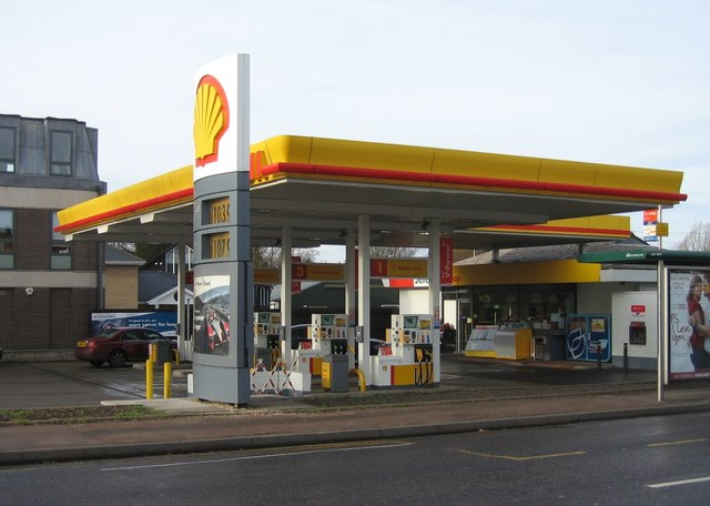 Shell garage logomachy cc by sa 2 0 geograph britain and ireland - Find nearest shell garage ...