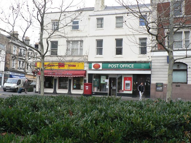 Bournemouth lansdowne post office chris downer geograph britain and ireland - Great britain post office ...